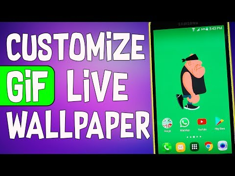 How to Customize GIF Live Wallpaper || Customize GIF Live Wallpaper as per Your Need