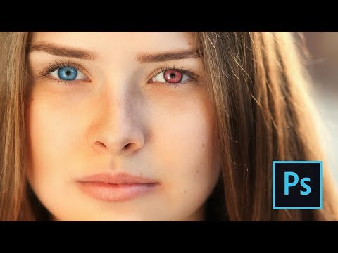 How to change eye color in Photoshop | Easy, step by step