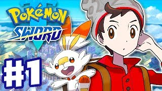 Pokemon Sword and Shield - Gameplay Walkthrough Part 1 - Galar Region Intro! (Nintendo Switch)