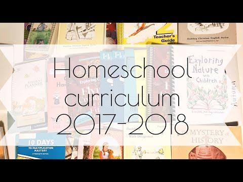 Homeschool curriculum reveal 2017-2018
