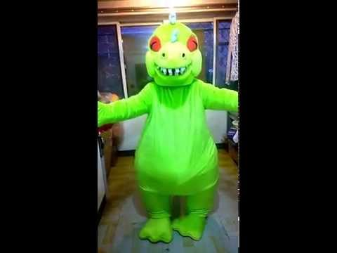 Reptar from Rugrats Mascot Costumes,Real Dinosaur Costumes