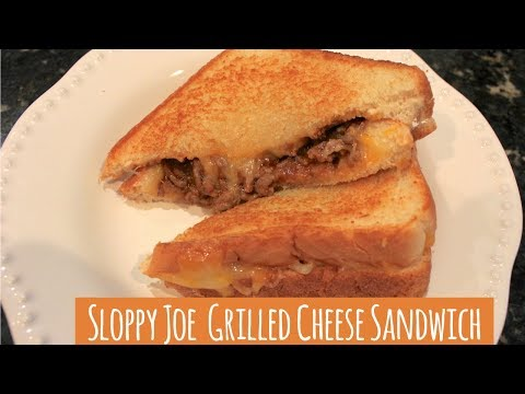 Sloppy Joe Grilled Cheese Sandwich Recipe