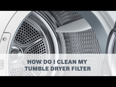 05  How do I clean my tumble dryer filter