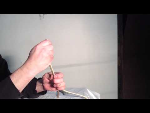 How to strip the insulation from your romex or nm wire.
