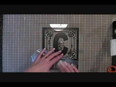 applying vinyl to glass & tile.wmv