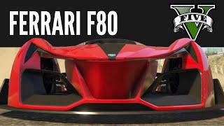 Grotti X80 Proto Ferrari F80 Race Concept Build Gtav Ps4