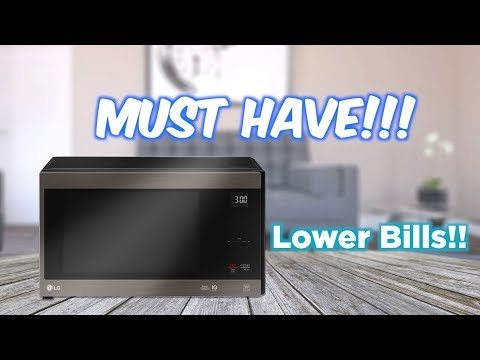 The latest Microwave from LG