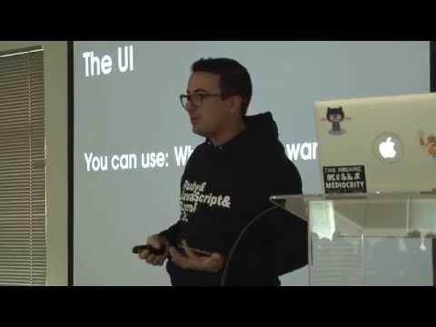 Rapid cross platform desktop app development using JavaScript and Electron by Gabriel Fortuna