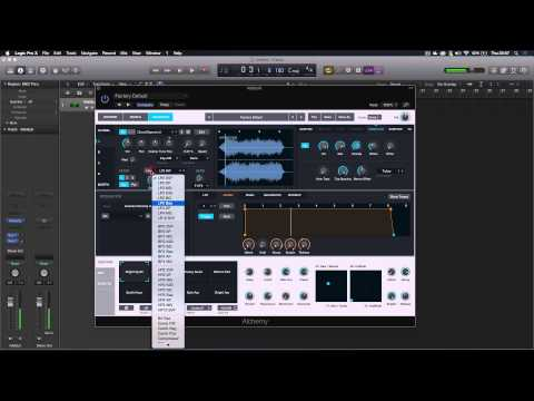 Logic Pro X - How to create unique sound design with samples using Alchemy