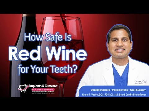 How Safe is Red Wine for your Teeth?