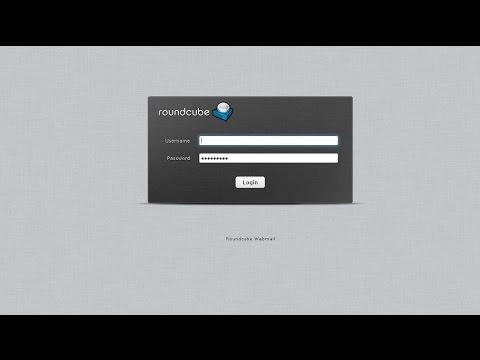 Roundcube mail server installation