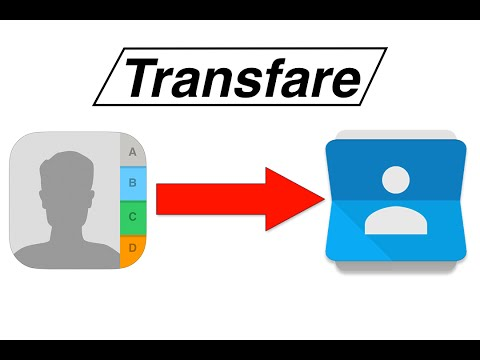 How to transfer contacts from iPhone to android - EASIEST WAY