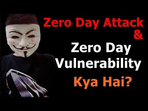 What is Zero Day Attack & Zero Day Vulnerability?  | Full Explanation In Hindi 🔥