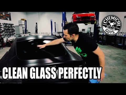 How To Clean Glass Perfectly - Chemical Guys
