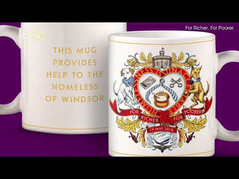 Prince Harry and Meghan Markle Wedding Memorabilia Will Support Windsor's Homeless