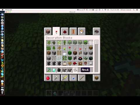 how to get a diamond pickaxe with fire aspect!!!!!!!!!!!!!