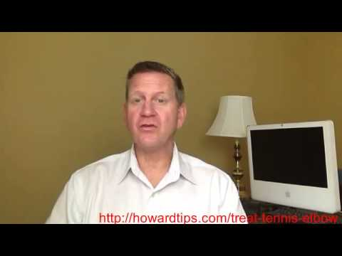 Tennis Elbow Treatment   How To Treat Tennis Elbow At Home