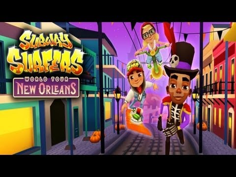 Subway Surfers: New Orleans - Samsung Galaxy S3 Gameplay