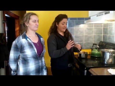 DIY Sugar Wax Hair Removal bilingual in Frenglish