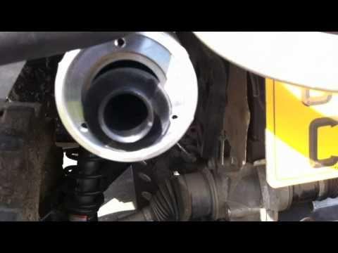 fitting HMF Exhaust Pipe Muffler Quiet Core canam 800