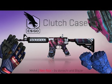 CS:GO - NEW CLUTCH CASE - ALL WEAPON SKINS +24 NEW GLOVES SKINS