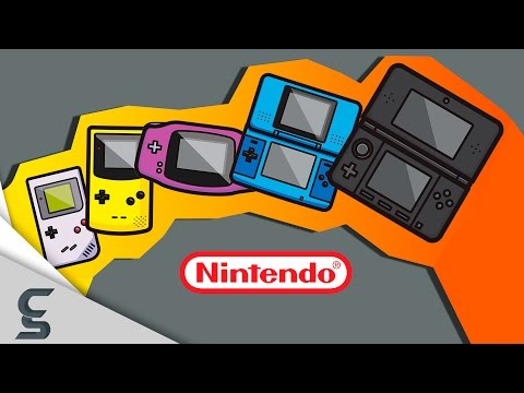 The Evolution of Video Game Graphics: Nintendo (Handheld Edition)
