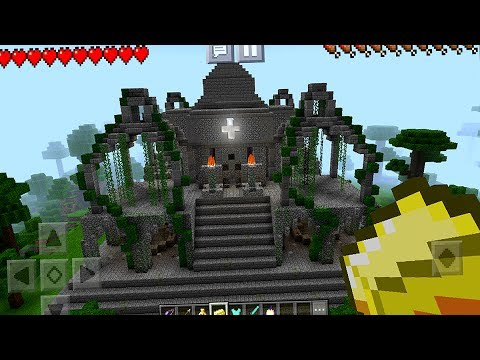 The BEST Seed Ever - Tomb Seed in Minecraft Pocket Edition