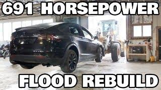 Restoring a Flood salvage Tesla Model X Part 2: Charger Troubles