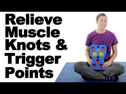 Relieve Muscle Knots & Trigger Points with a Massage Ball Plate - Ask Doctor Jo