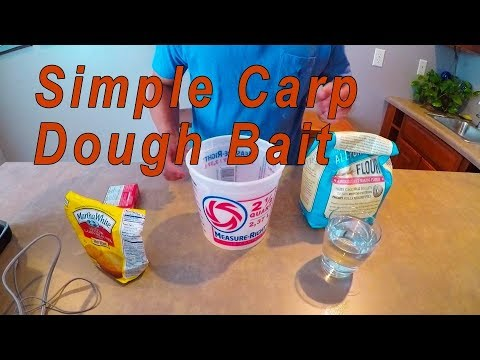 Easy to Make Carp Dough Bait! (Simple and Cheap)