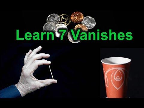 Learn 7 Vanishes: Easy Magic Tricks
