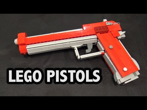 LEGO Dual Berettas from Counter-Strike: Global Offensive | Brickworld Chicago 2017