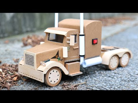 How To Make Container Truck(Optimus Prime) - Amazing Cardboard DIY