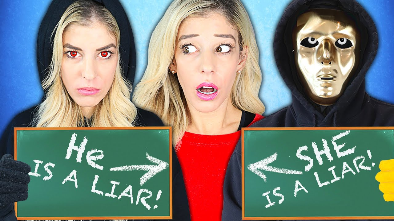 Twin Telepathy Challenge Rebecca Zamolo vs Hacker to Find Truth! (Battle Royale in Real Life)