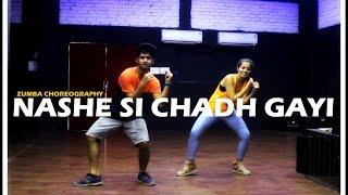 Nashe Si Chadh Gayi Dance | Befikre | Zumba Choreography I V!cky & Aakanksha