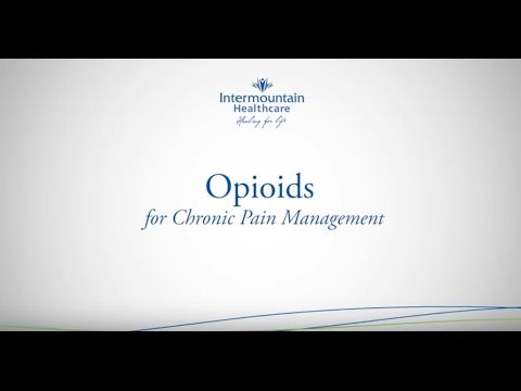 Opioids for Chronic Pain Management