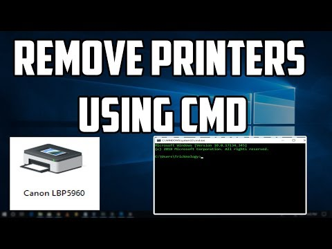 How To Remove Printers Using CMD [Command Prompt]