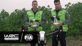 "WRC 2016: WHO IS WHO ""DJI drone operators"""