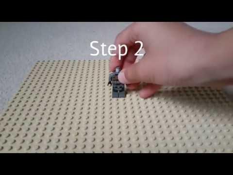 How to make Lego Power Armor With Minigun