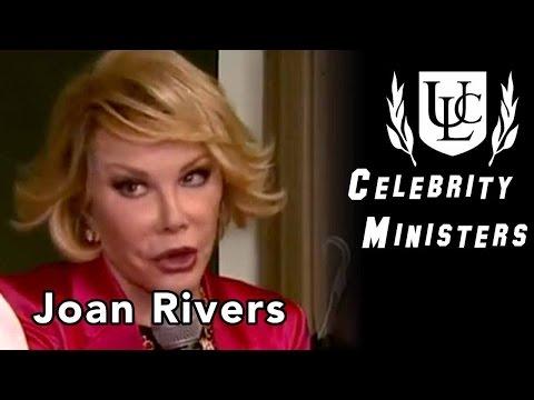 Celebrity Minister: Joan Rivers