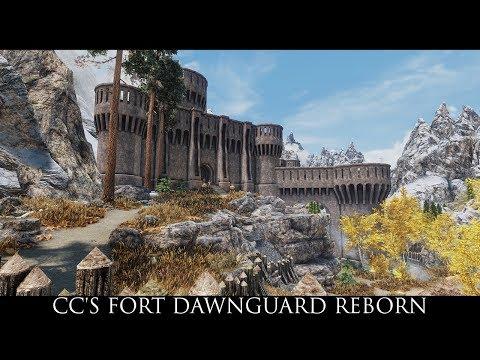 Skyrim SE Mods: CC's Fort Dawnguard Reborn