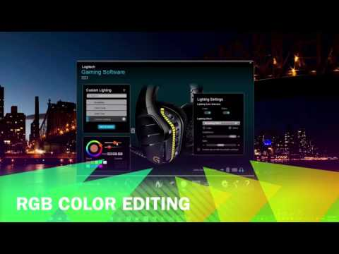 Logitech G933 Gaming Software Review