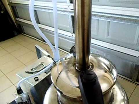 Homemade 50 liter beerkeg and pressurecooker for pot disstilling,everything .AVI