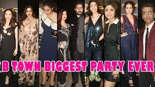 Aishwarya,Abhishek,Kajol,Sushmita,Madhuri,Sonali,Dia, At Make Up Man Micky Contractor