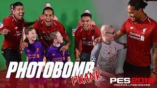 Firmino, Van Dijk & Trent's hilarious photobombing   PES2019 Prank