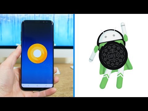 Android 8.0 Oreo On Samsung Galaxy S8+