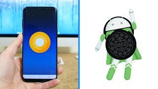 Android 8.0 Oreo On Samsung Galaxy S8+