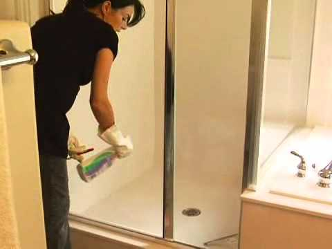 Video  How to Clean Bathrooms  Shower Floors   eHow com