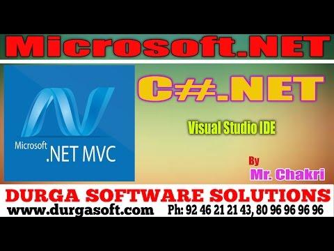 .Net Tutorials||onlinetraining||c#.net Visual studio IDE by chakri