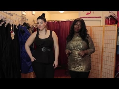 How to Weed Out Clothes When You Are Always Between Sizes : Plus-Sized Fashion Advice